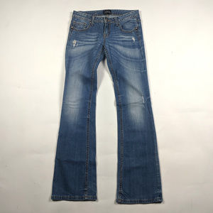 ReRock for Express Boot Cut Size 4 Low Rise Jeans